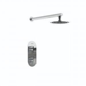 BRISTAN Complete Sail Recessed Dual Control Shower Pack