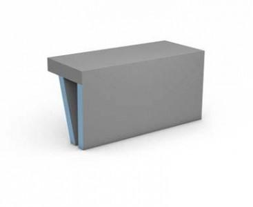 Wedi Sanosa Bench 1 1200 x 380 x 454mm  [076447021]