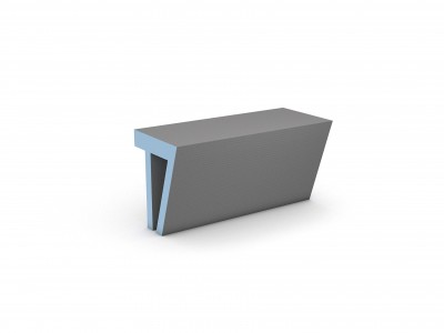 Wedi Sanosa Bench 2 1200 x 380 x 454mm  [076447023]