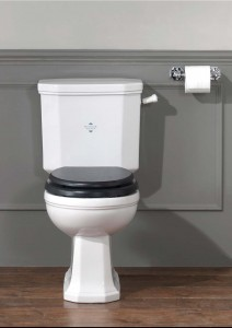 Silverdale Empire Close Coupled WC Pan  EMCLOCC6WHI