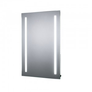 Sensio Gina Illuminated LED Mirror Battery Powered Front Diffused Strip LED mirror. IP44 / 3.36W / Zone 2 / Suitable for retrofit  [SE30507C0]