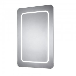 Sensio Grace Soft Edge 70 x 50cm Soft edge single diffused LED mirror. IP44 / 12.8W / 240V / 80 LEDs / Zone 2 / Can be fitted horizontally or vertically.  [SE30677C0]