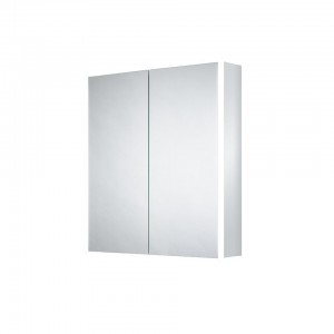 Sensio Ainsley Two Door Illuminated LED Mirror Cabinets LED Mirror Cabinet with 2 shelves. IP44 / 41.3W / 240V / Diffused LEDs / Zone 2  [SE30794C0]