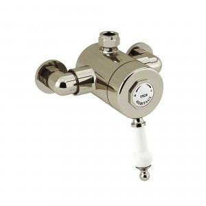 HERITAGE SGAT03 Glastonbury Exposed Shower Valve with Top Outlet Connection - Vintage Gold