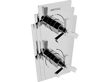 HERITAGE SGRC02 Gracechurch Recessed Shower Valve with Diverter - Chrome