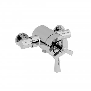 HERITAGE SGRDCB03 Gracechurch Exposed Shower Valve with Bottom Outlet Connection - Chrome