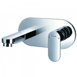 Flova SM2HBAS Smart Concealed Single Lever Basin Mixer with Clicker Waste Set