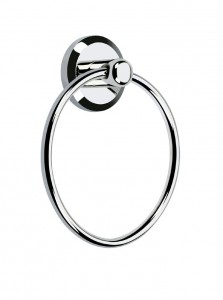 BRISTAN Solo Towel Ring Chrome Plated