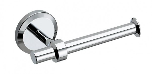 BRISTAN Solo Single Toilet Roll Holder Chrome Plated