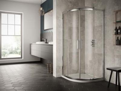 Sommer 8 Double Door Quadrant 800 x 800mm Enclosure  [SOE01]   1900mm (h) - Glass 8mm