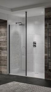 Sommer Wetrooms 1000mm Wall Bracket - Black  [SOWBKFK1]