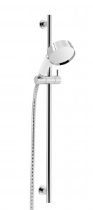 HERITAGE STC18 Deluxe Adjustable Flexible Riser Kit with Handset - Chrome