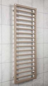 Zehnder SUB060045523 Subway Ladder Radiator 613 x 450mm 310w Beige Quartz