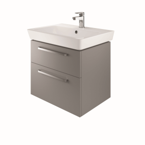 The White Space SW60AG Scene 60cm Wall Hung Vanity Unit - Grey