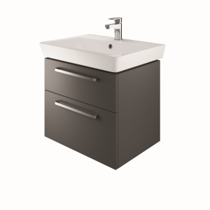 The White Space SW60CH Scene 60cm Wall Hung Vanity Unit - Charcoal