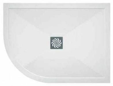 TMUK Elementary - Offset Quadrant - 1100 x 800mm Left Hand - White  [D251100X800QLH]