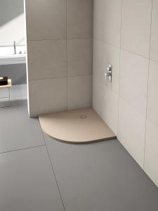 MERLYN T90QST Truestone - Quadrant Shower Tray 900x900mm