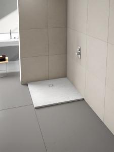 MERLYN T90RST Truestone - Square Shower Tray 900x900mm