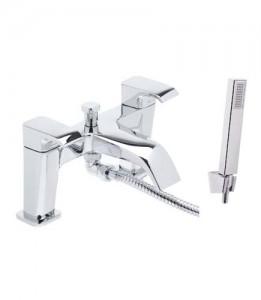 Tavistock Adapt Bath Shower Mixer with hose and handset - Chrome [TAD42]