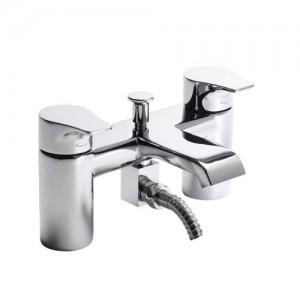Tavistock Blaze Bath Shower Mixer with hose and handset - Chrome [TBL42]