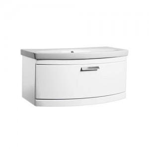 Tavistock TE900WW Tempo 90cm Wall Vanity Unit - White