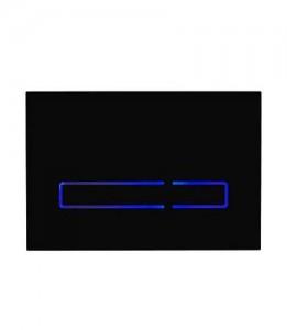 Tavistock Sensor Dual Flush Dual Flush - Black Glass [TR9016]