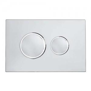 Tavistock Traditional Dual Flush - Chrome [TR9017]