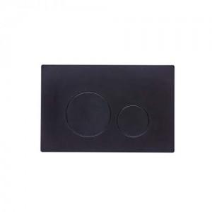 Tavistock Round  Flush Plate Black [TR9021]