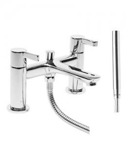 Tavistock Revive Bath Shower Mixer with hose and handset - Chrome [TRV42]