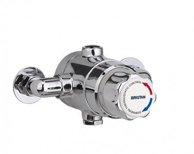 BRISTAN 15mm Thermostatic Exposed Mixing Valve (no shut-off)