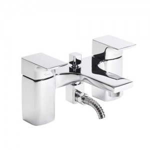 Tavistock Siren Bath Shower Mixer with hose and handset - Chrome [TSN42]