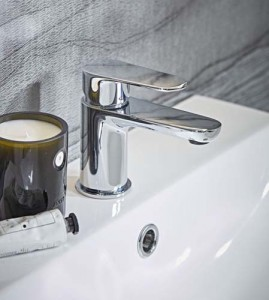 Tavistock Mini basin mixer with click waste - Chrome  [TZE61]