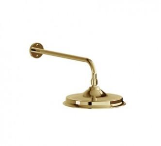 Burlington Riviera Shower Valves Straight Shower Arm - Gold [V11GOLD]