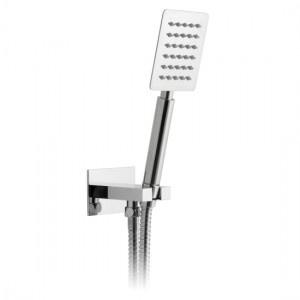 Vado AQB-SFMKWO/RO-C/P Aquablade Mini Shower Kit Single Function with Integrated Outlet Round