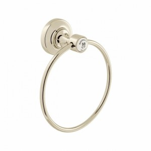 Booth & Co by Vado BC-AXB-181-BN Towel Ring Nickel