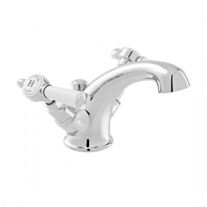 Booth & Co by Vado BC-AXB-200-CP Mono Basin Mixer with Pop-Up Waste Chrome