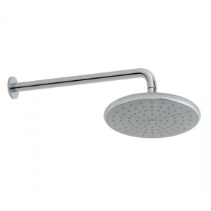 Vado CER-HEAD/SA-C/P Ceres Self-Cleaning Shower Head & Arm 235mm