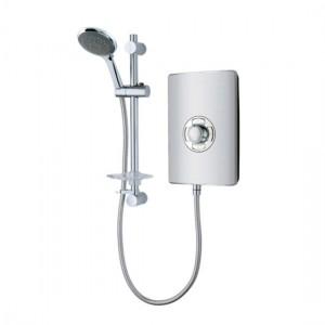 Vado ELS-ELE-95-MET Elegance Electric Shower 9.5kw Metallic