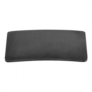 Individual by Vado IND-395CAP/SQ-BLK Square Cap to Suit Universal Basin Waste Brushed Black