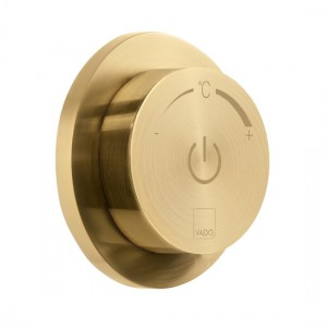 Individual by Vado IND-DIA1000-BRG Sensori SmartDial 1 Outlet Control Brushed Gold