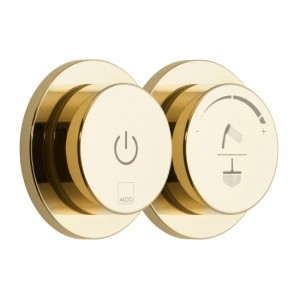 Individual by Vado IND-DIA2000-BG Sensori SmartDial 2 Outlet Shower Control Bright Gold