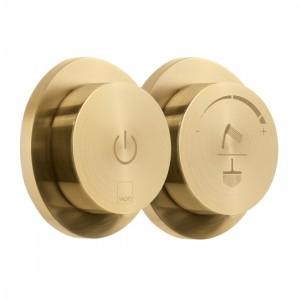 Individual by Vado IND-DIA2000-BRG Sensori SmartDial 2 Outlet Shower Control Brushed Gold