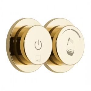 Individual by Vado IND-DIA2700-BG Sensori SmartDial 2 Outlet Bath Control Bright Gold