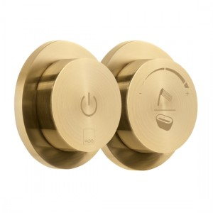Individual by Vado IND-DIA2700-BRG Sensori SmartDial 2 Outlet Bath Control Brushed Gold