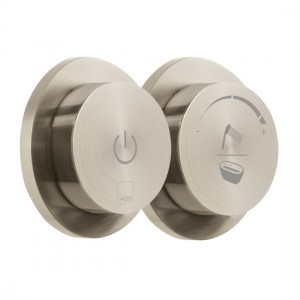 Individual by Vado IND-DIA2700-BRN Sensori SmartDial 2 Outlet Bath Control Brushed Nickel