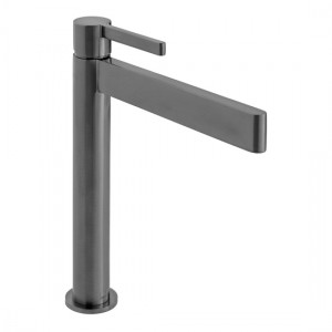 Individual by Vado IND-EDI100E/SB-BLK Edit Extended Smooth Bodied Mono Basin Brushed Black