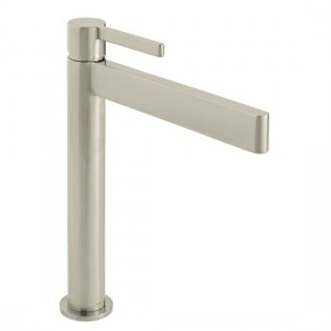 Individual by Vado IND-EDI100E/SB-BRN Edit Extended Smooth Bodied Mono Basin Brushed Nickel