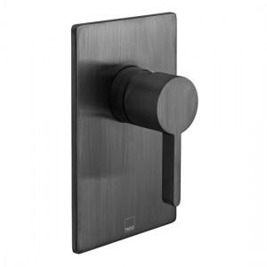 Individual by Vado IND-EDI145A-BLK Edit Manual Shower Valve Brushed Black