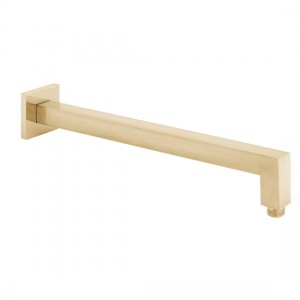 Individual by Vado IND-EFSA/SQ-BRG Square Easy Fit Shower Arm Brushed Gold