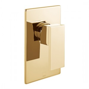 Individual by Vado IND-NOT145A-BG Notion Manual Shower Valve Bright Gold